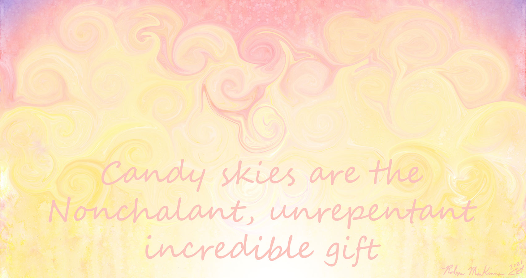 Candy Skies, a haiku by Robyn MacKinnon at Spillwords.com