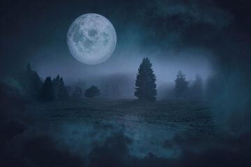 Halloween Blue Moon 2020, poetry by Rex Carey Arrasmith at Spillwords.com