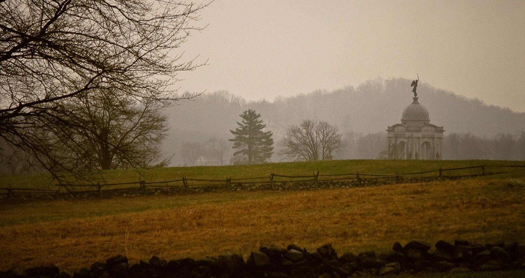 Gettysburg, a poem written by Brad Osborne at Spillwords.com