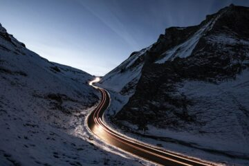 The Snowy Road, poetry by JD Maxwell at Spillwords.com