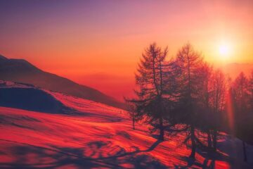 A Snowy Canvas, poetry written by Madhumita at Spillwords.com