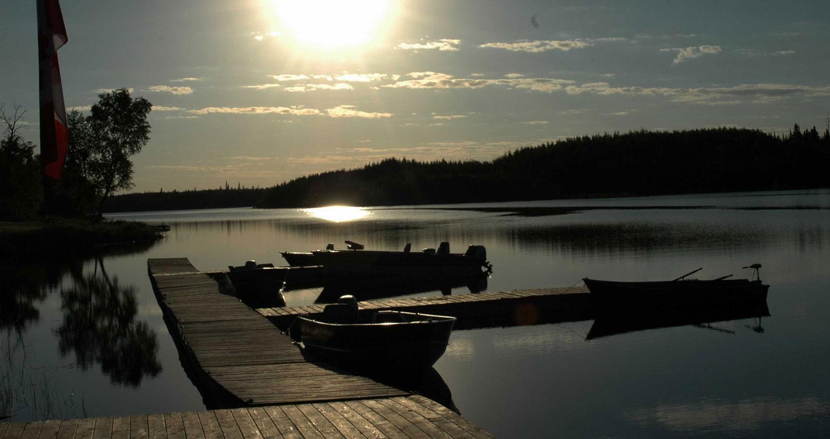 Sunrise at Whiskey Jack Lodge, a poem at Spillwords.com