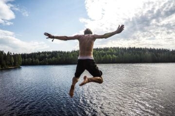 Laughter on Water, poetry written by Kevin Taylor at Spillwords.com