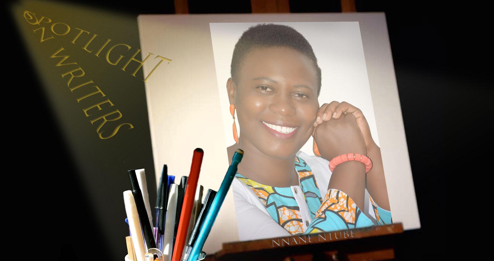 Spotlight On Writers - Nnane Ntube, interview at Spillwords.com