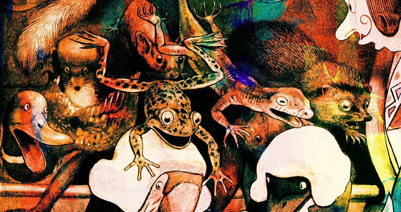 Questionable Frogs, poetry written by Mickey Mason at Spillwords.com