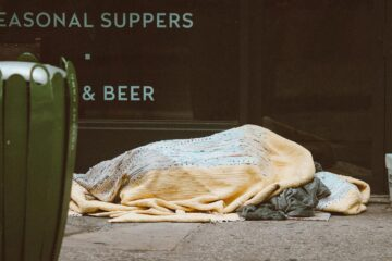 Strangers Sleeping on The Streets, poem by Jake Cosmos Aller at Spillwords.com