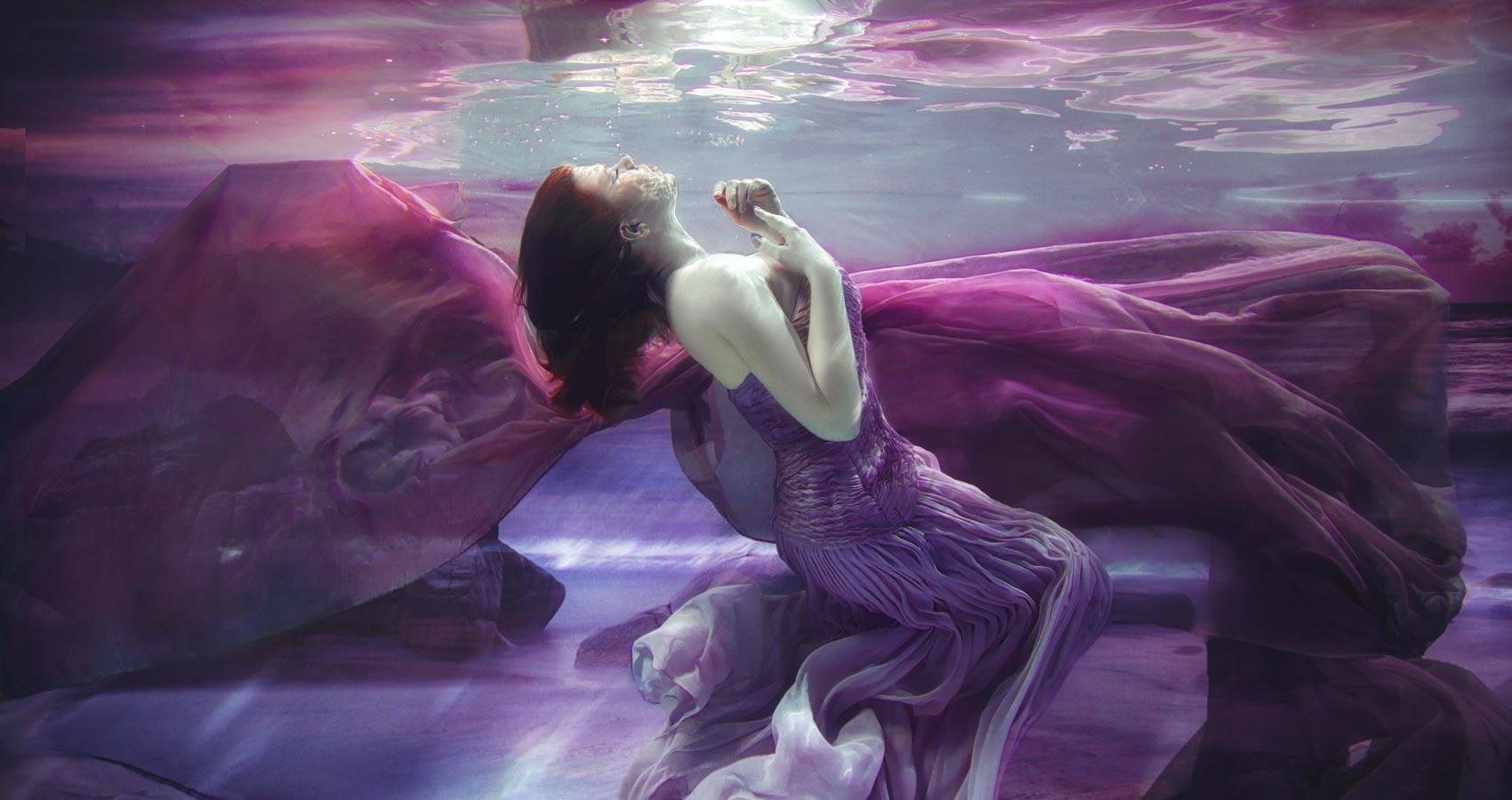 Underwater, poetry written by Ipsita Banerjee at Spillwords.com